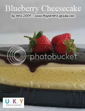 bluberi cheesecake
