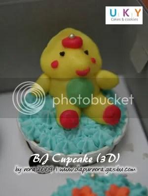 BJ cupcake 3D