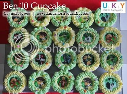 cupcake ben 10 bandung