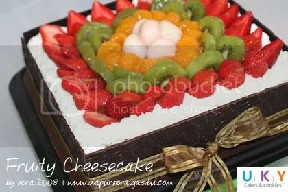 fruity cheesecake