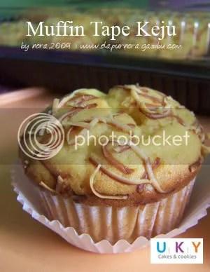 muffin tape keju