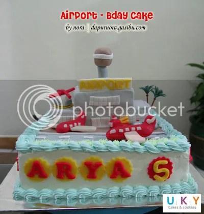 birthday cake airport bandung