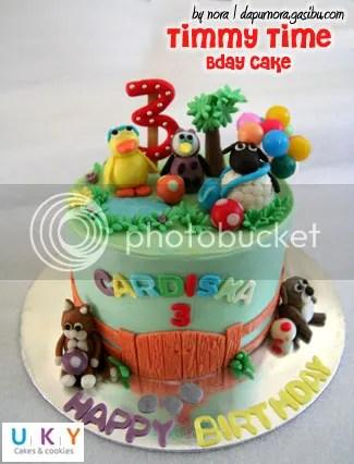 birthday cake timmy time bandung