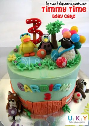 kue ulang tahun timmy time bandung