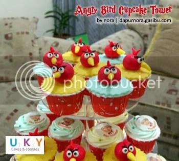 Cupcake Tower angry bird bandung