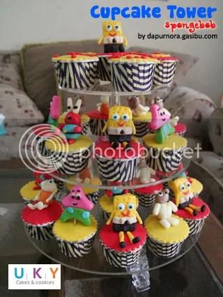 Cupcake Spongebob bandung