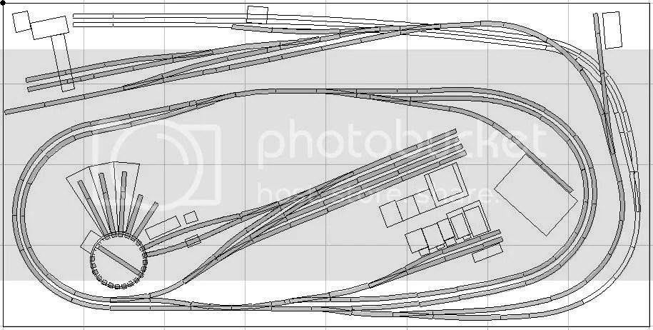 N gauge track plans 6 x 4, n scale model railroad layouts