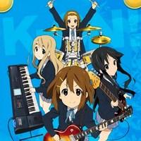 Yui (Guitarra), Mio (Bajo), Tsugumi (Teclado) y Ritsu (Bateria)