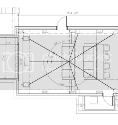 below is the room layout and section cut thru the middle how do i calculate [ 1024 x 819 Pixel ]