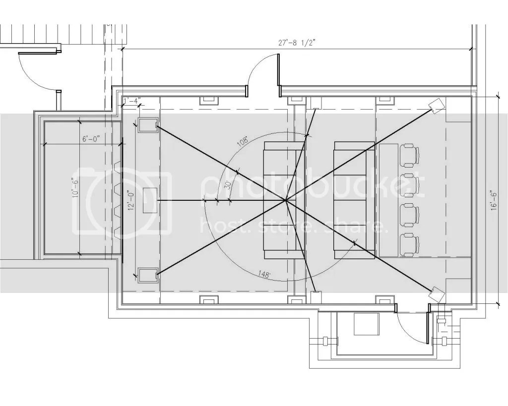 hight resolution of below is the room layout and section cut thru the middle how do i calculate