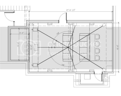 small resolution of below is the room layout and section cut thru the middle how do i calculate