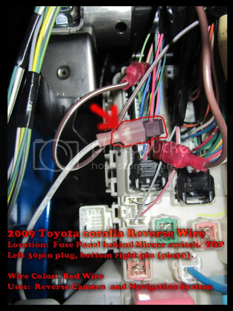 the12volt com wiring diagram 2000 ford f150 stereo radio efcaviation reverse wire location - toyota nation forum : car and truck forums