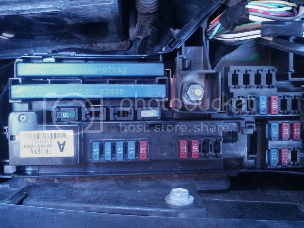 medium resolution of battery hooked up wrong how to change the 120 amp fuse 6th
