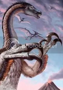 Therizinosauridaes