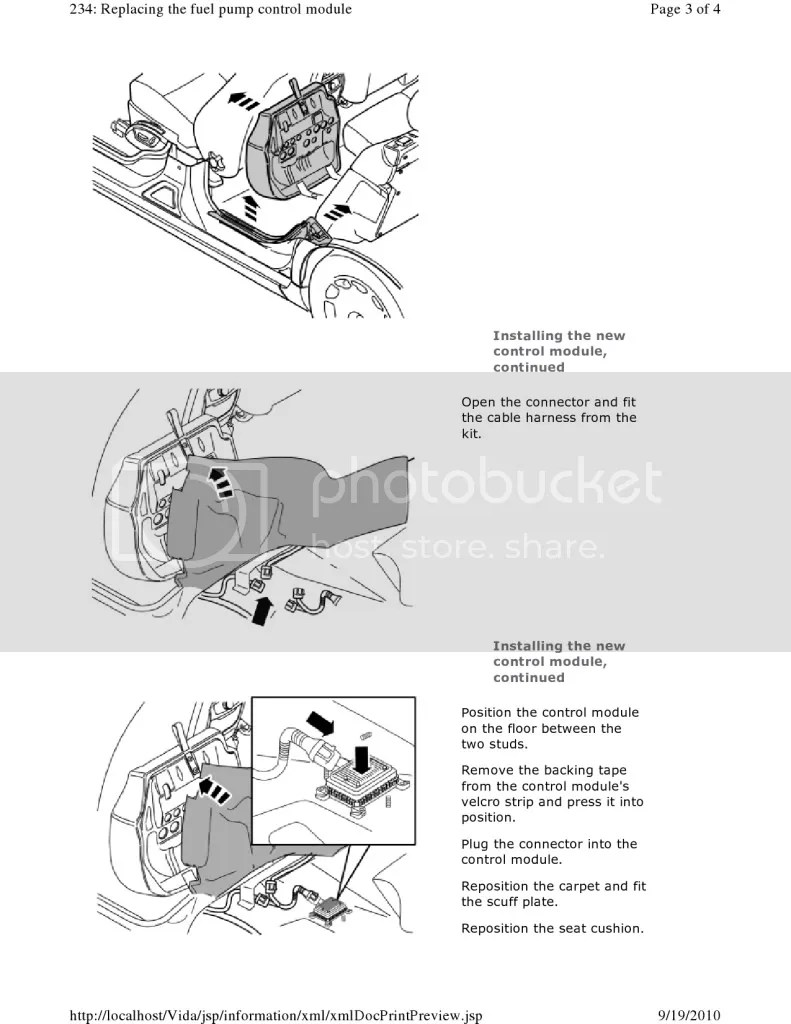 Service manual [2003 Isuzu Rodeo Coolant Lower Intake