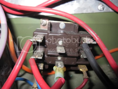 small resolution of the old motor has 6 wires and all were used 1 red 1 white 1 black 1 brown attached to the capacitor 1 brown w white stripe attached to the capacitor