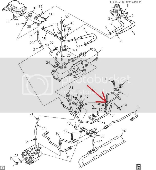 2002 Chevy Duramax Fuel Pump Location Pictures to Pin on