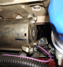 2007 impala starter clicking 1970 chevy impala starter heres my starter and the purple wire theres [ 1024 x 768 Pixel ]