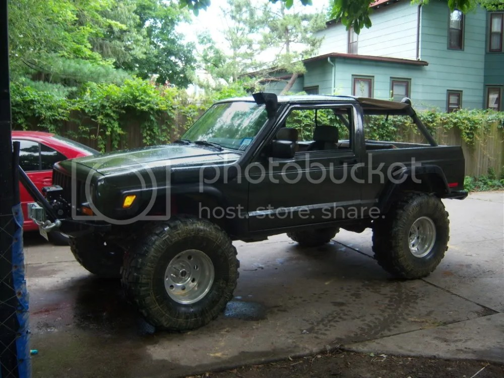 medium resolution of and this one is a 2 door cherokee that was masterfully crafted into an amazing cheromanche