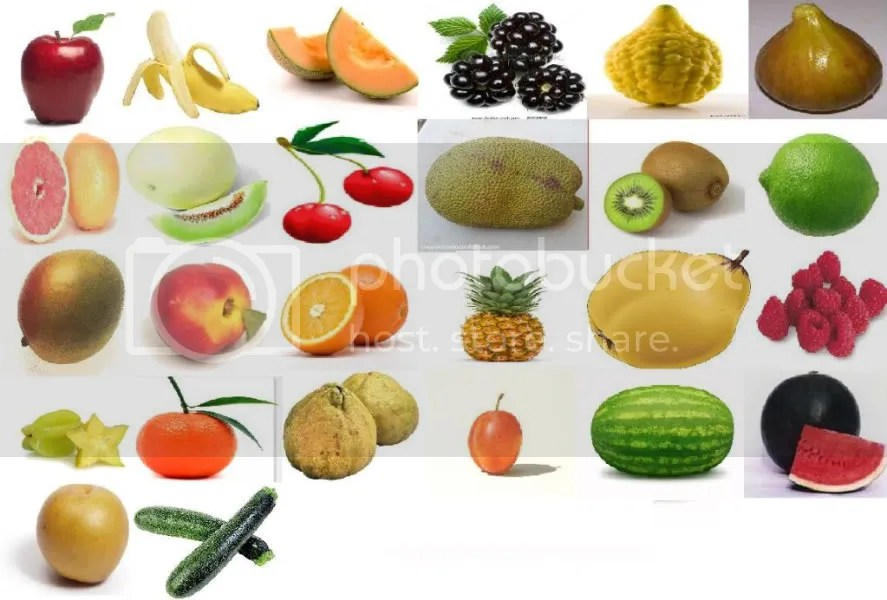 Fruit per Letter (images) Quiz - By RaysRule2010