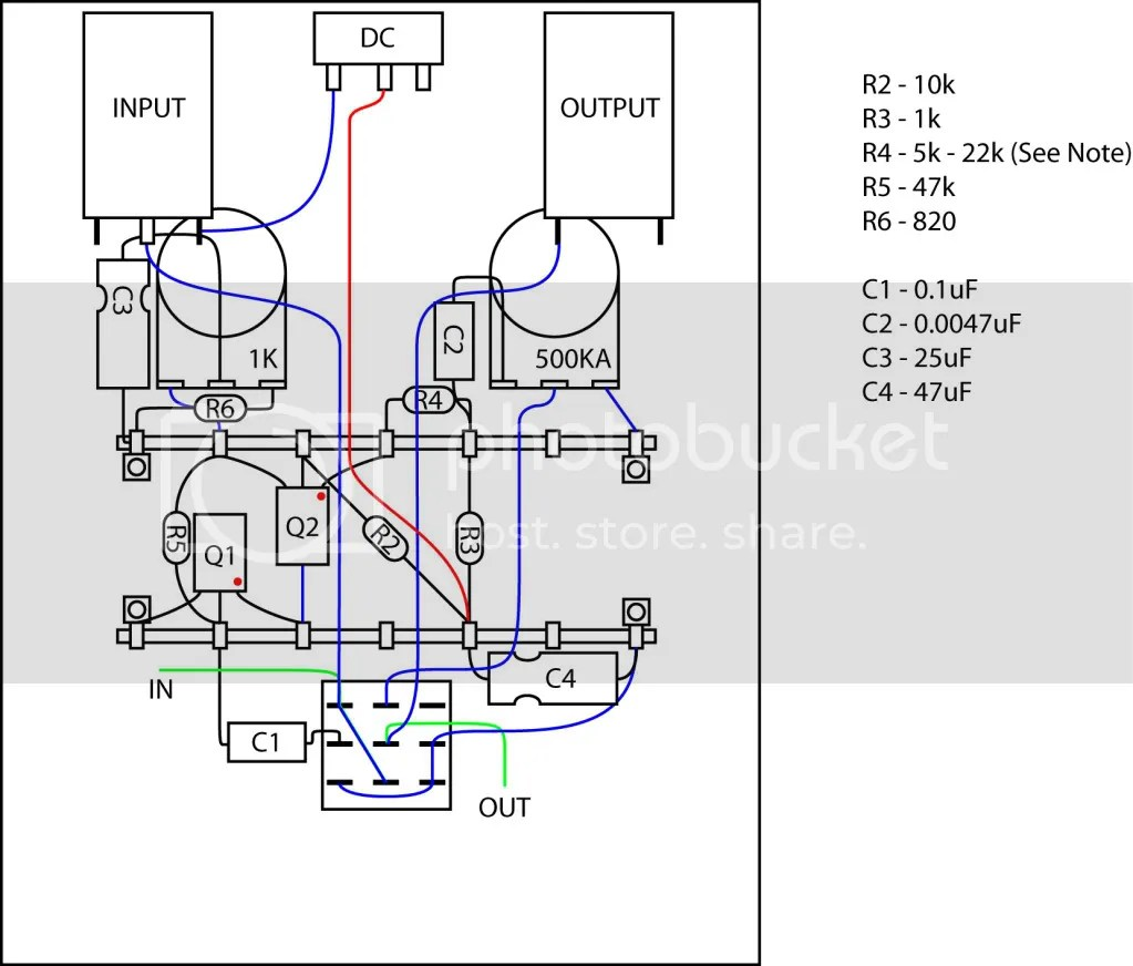Wiring Harness 3pdt Stomp Box Auto Electrical Diagram Related With
