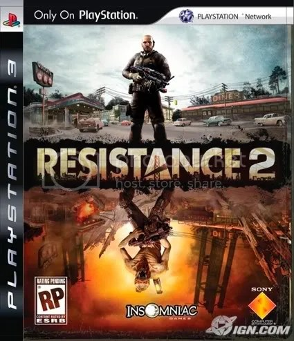 Resistance 2 Collectors Edition, European cover