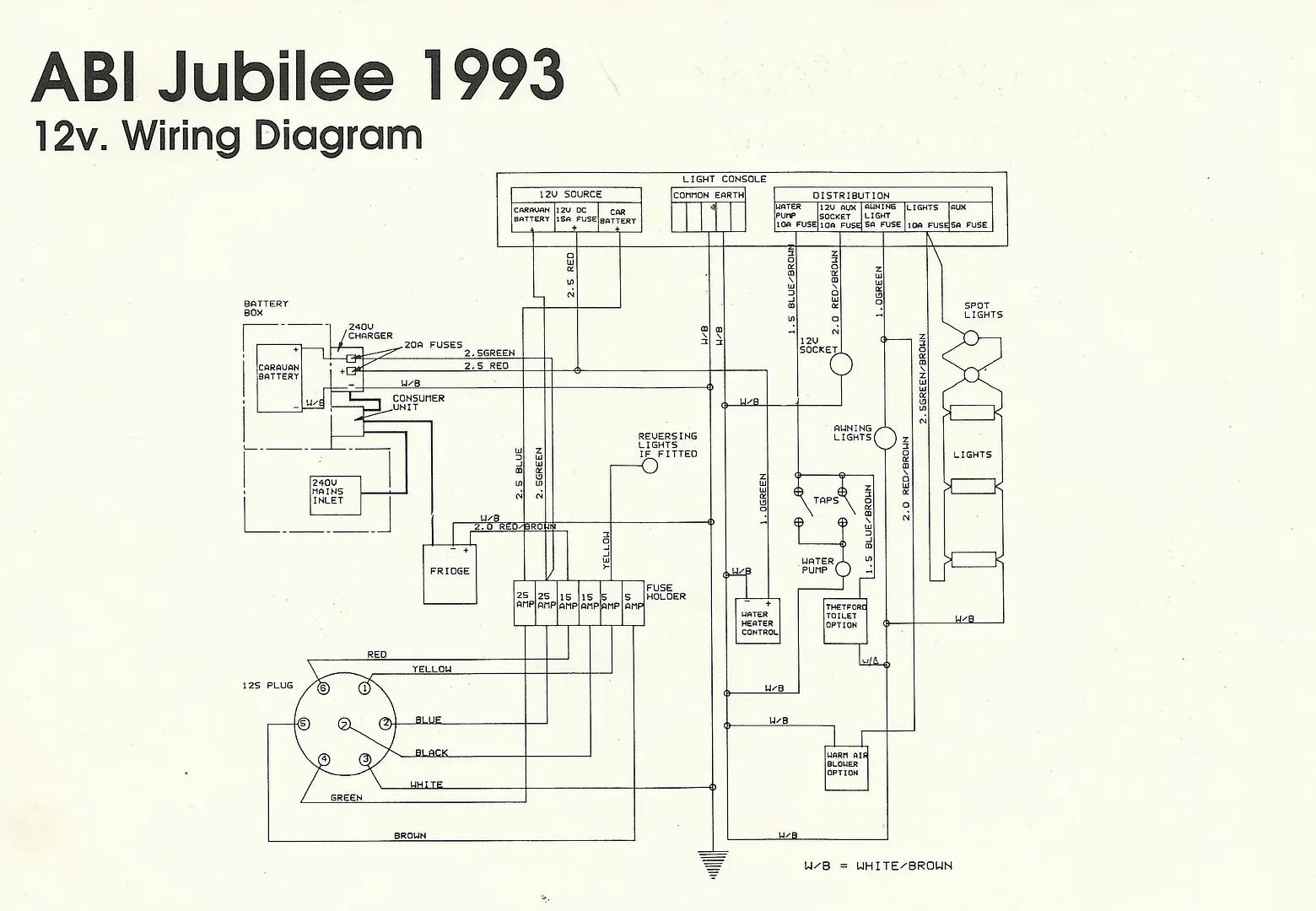 Wiring Diagram 12v Caravan Fridge 12v Not Working Due To Cassette Toilet Caravan
