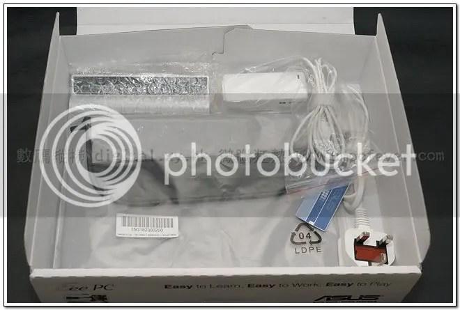 Asus Eee PC 900 XP 版開箱報告 - 外型篇 - 數碼縱橫