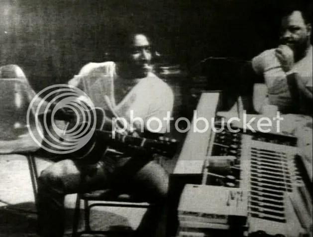 Otis in Stax Studios