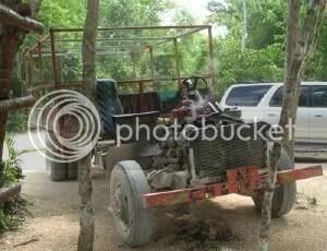 The 'Mayan Limousine' at Hidden Worlds