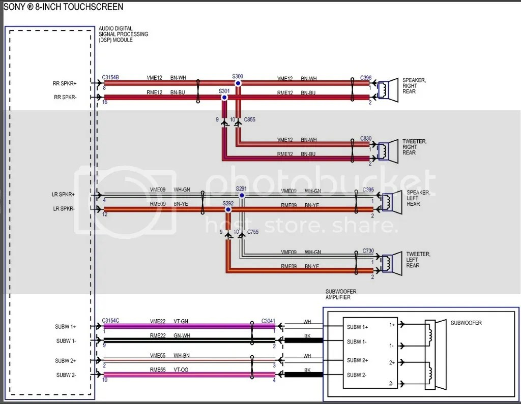 ford sony radio wiring diagram xplod cdx gt310 2013 f150 door speaker size autos post