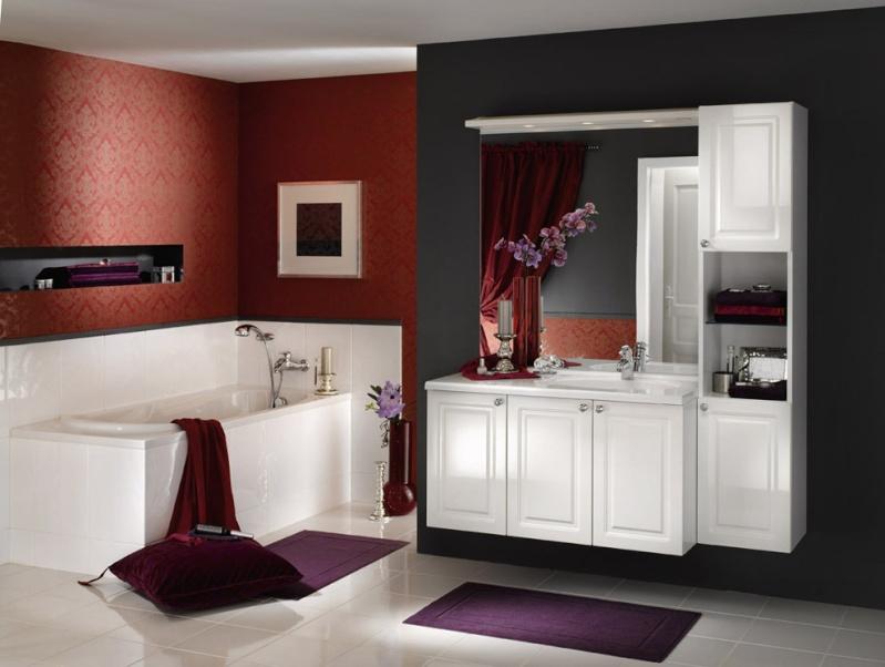 La salle de bains familiale pas grande  ides couleur pour mur  rampant