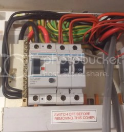 domestic consumer unit question singletrack magazine as per photo i want to add another 32a rcd [ 1024 x 768 Pixel ]