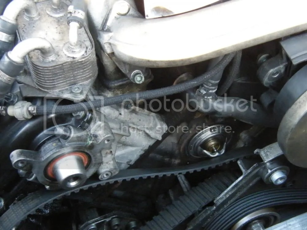 medium resolution of perfectly normal worry when it does not get hot to 90 c them thermostats are known for failing and require timing belt off in order to change