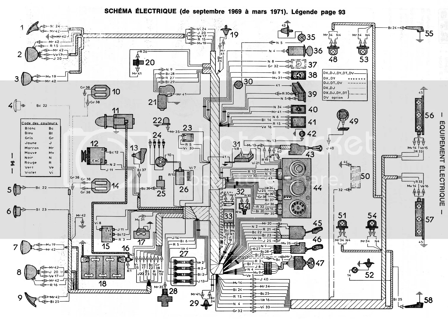 Citroen Ds Engine Diagram: Citroen sm wiring diagram wire