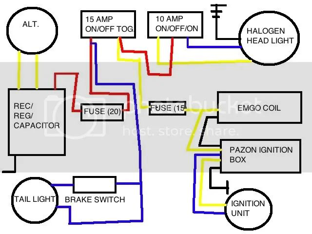 motorcycle battery eliminator wiring diagram