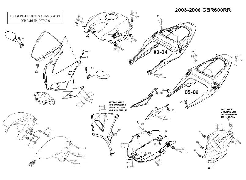 2005 Cbr F4i Wiring Diagram