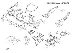 Complete Fairing Bolt Kit Screws Bolts Stainless for Honda