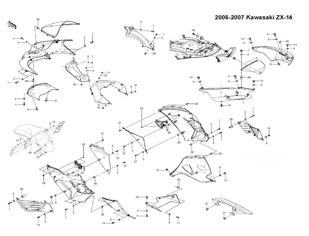 06 zx14 wiring diagram