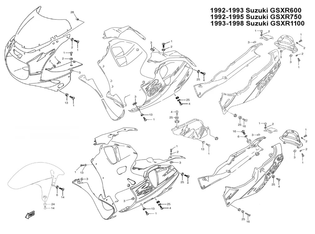 [DIAGRAM] 1999 Gsxr 750 Engine Diagram FULL Version HD