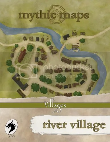 Mythic Maps River Village Preview
