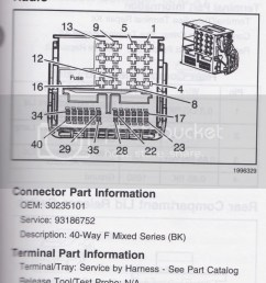 radio hvac main unit wiring connector x1 [ 898 x 1023 Pixel ]