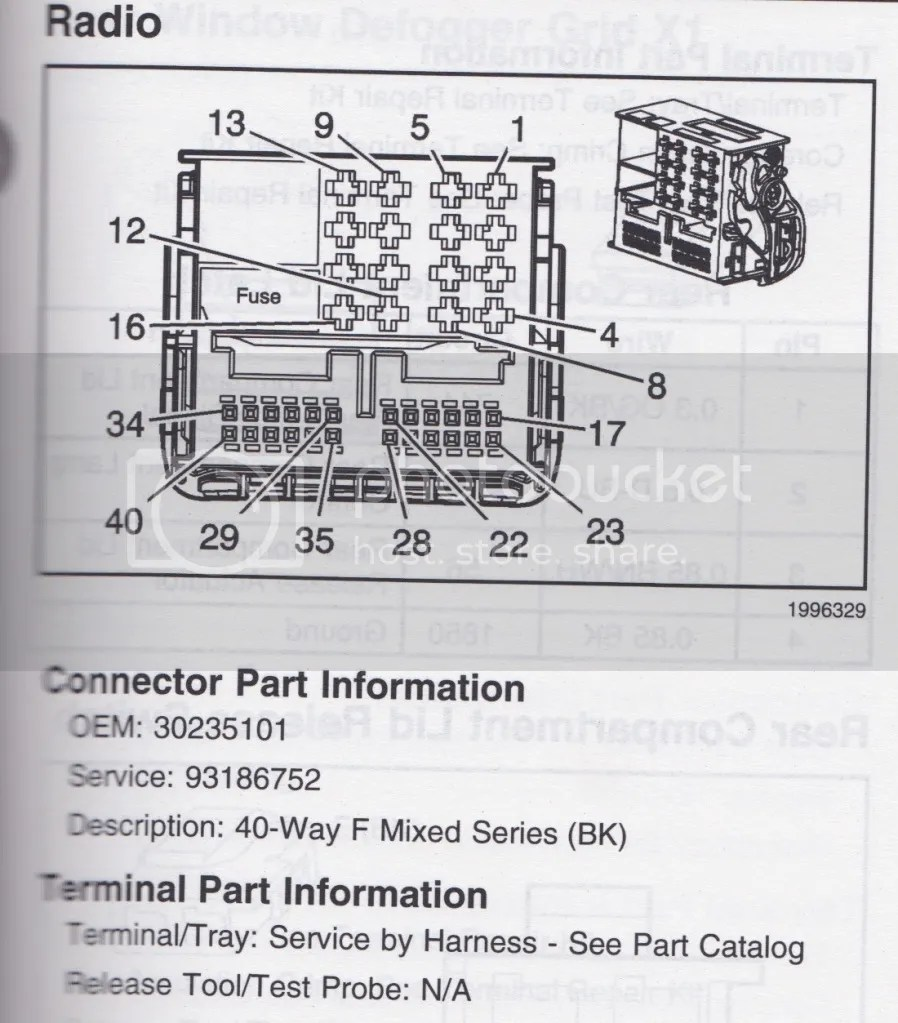 medium resolution of radio hvac main unit wiring connector x1