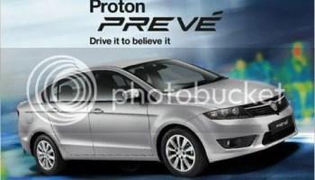 Model baharu Proton Preve'