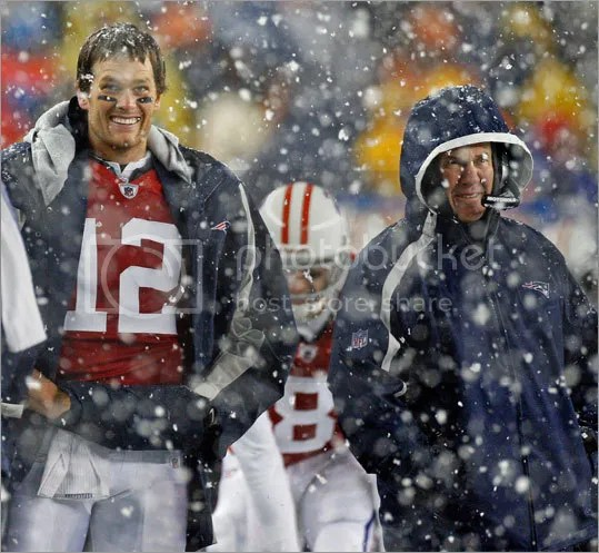 Folks:  this performance is what it takes for Belichick to smile while coaching.  Think about that.