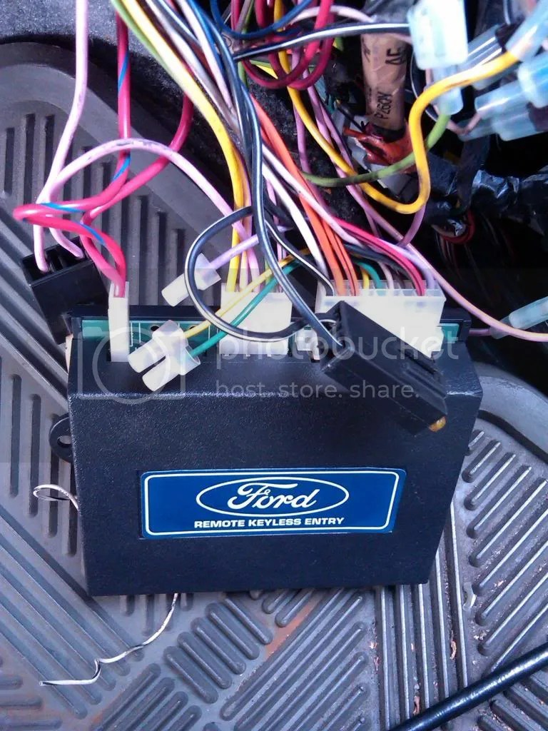 Keyless Entry Code Location On Ford Keyless Module Wiring Diagram
