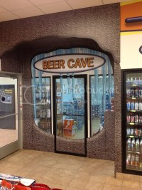 NEW Walk in Cooler Beer Cave Cooler 10x13 Anthony glass ...