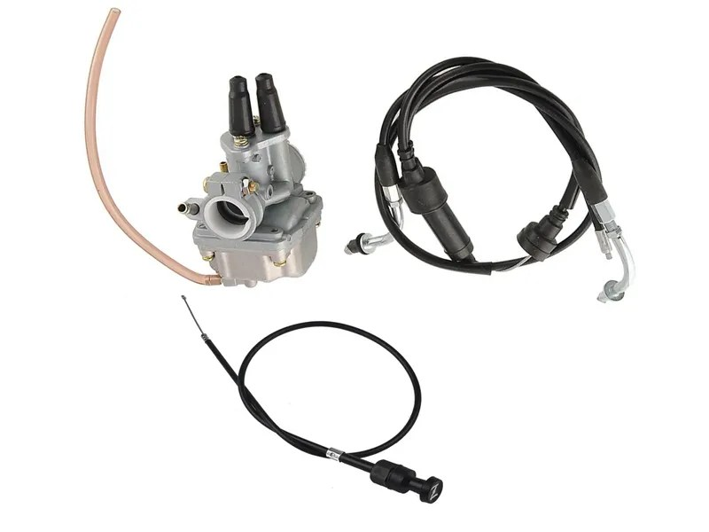CARBY + THROTTLE CABLE + Choke Cable YAMAHA PW80 PY80