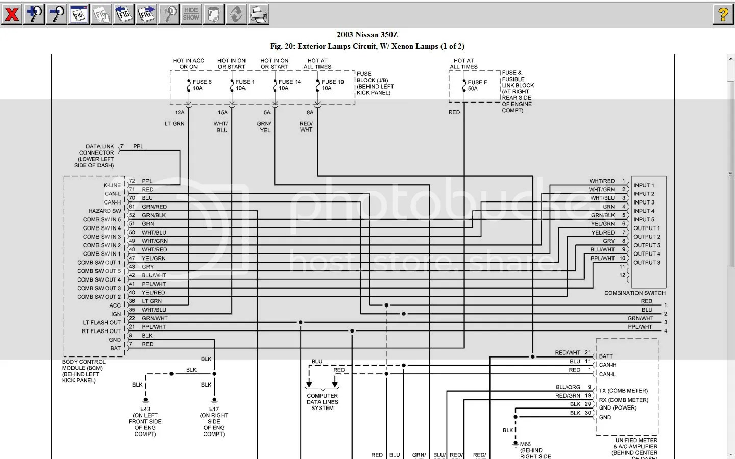 2003 Nissan 350z Engine Parts Diagram