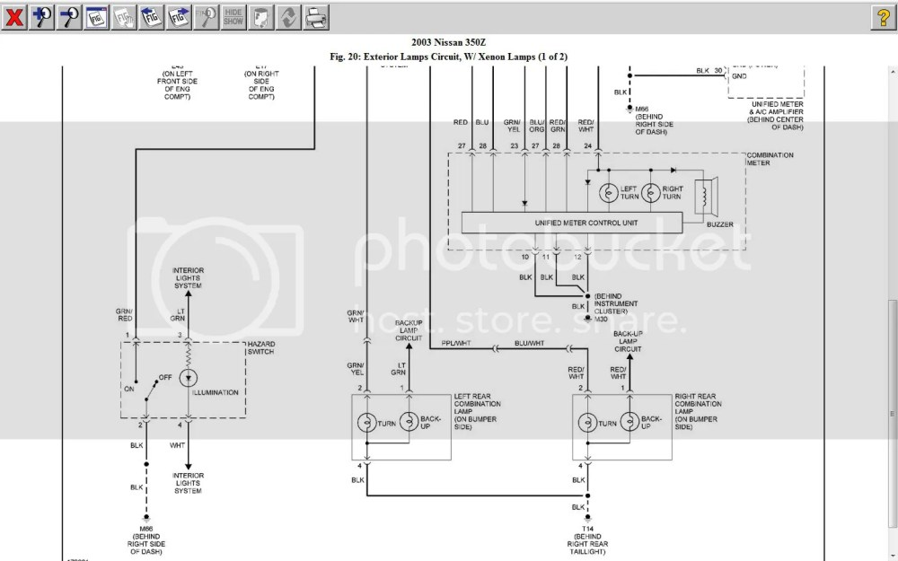 medium resolution of 350z headlight wiring diagram wire management wiring diagram 350z headlight harness diagram